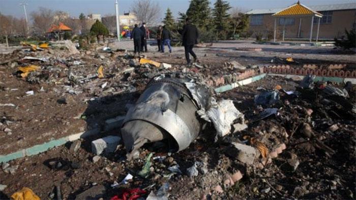یوکرینی طیارے کا بلیک باکس دینے سے ایران کا انکار