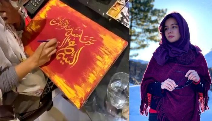 رابی پیرزادہ کی خطاطی نمائش کیلئے تیار