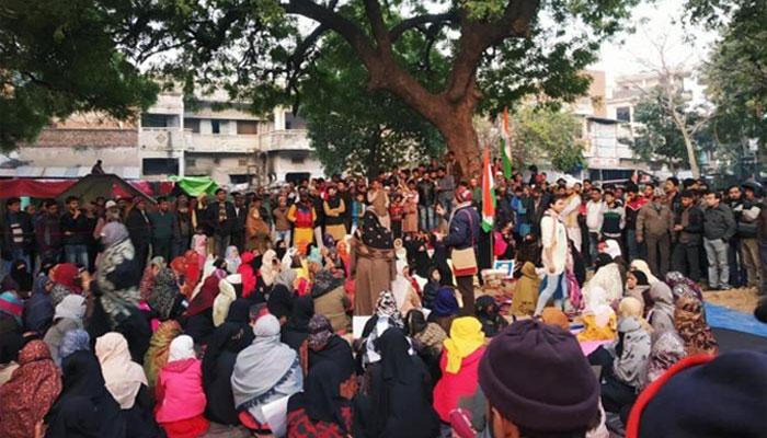 متنازع شہریت قانون : نئی دلی کا علاقہ شاہین باغ احتجاج کا گڑھ
