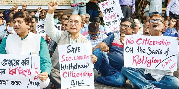 بھارت میں شہریت کے ترمیمی بل پر حزب مخالف تقسیم