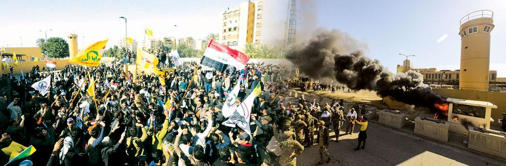 عراقی عوام کا امریکا کے خلاف شدید احتجاج