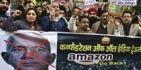 Amazon Focused At India Local Businessmen Protest On His Plan
