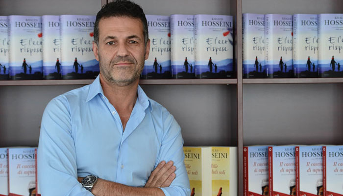افغان ناول نگار ''خالد حسینی''