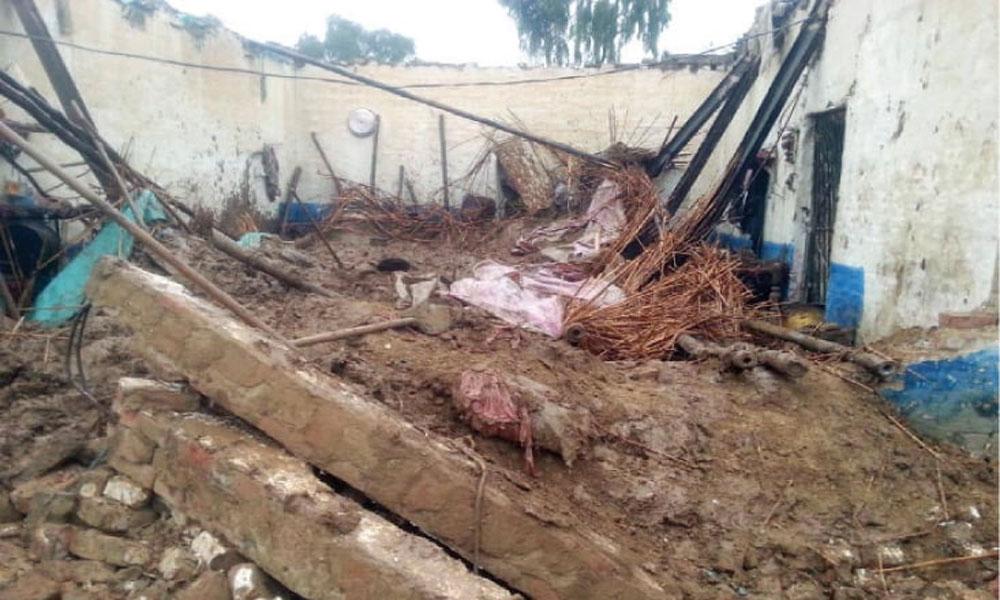 کوئٹہ: مکان کی چھت گر گئی، باپ بیٹی جاں بحق
