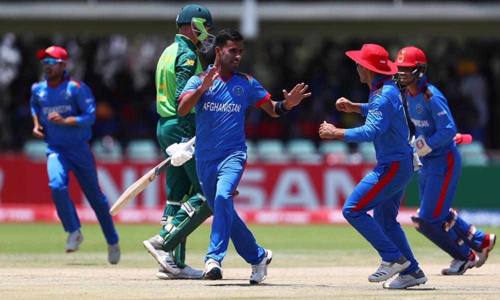 انڈر۔19 ورلڈ کپ: افغانستان نے جنوبی افریقا کو7 وکٹ سے ہرادیا