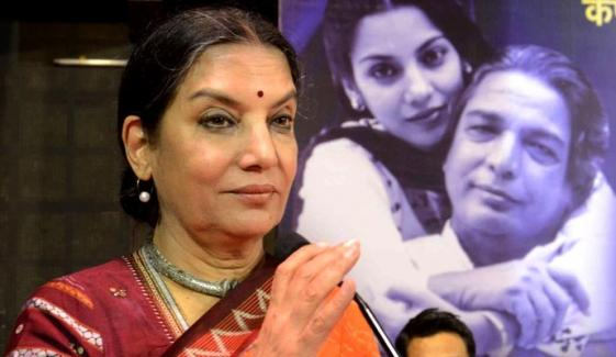 Veteran Actress Shabana Azmi Injured In A Road Accident