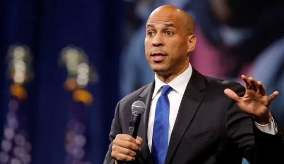 Trying To Bring Resolution In Us Senate Regarding Occupied Kashmir Cory Booker