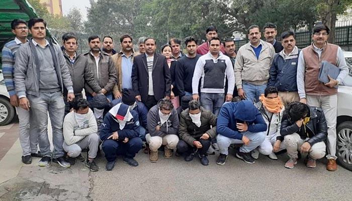 نئی دہلی: بھارت،آسٹریلیا میچ پر سٹہ لگانے والا گروہ پکڑا گیا