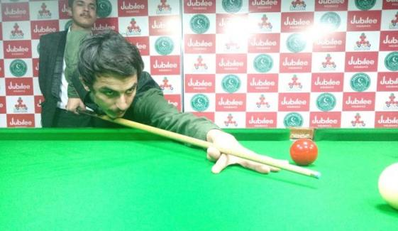 Saad Khan Reaches Into National Junior U19 Snooker Championship