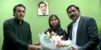 Bilawal Bhutto Visits Woman Worker Home Inquire About Her Health