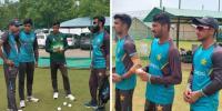 Pakistan U19 Training Session