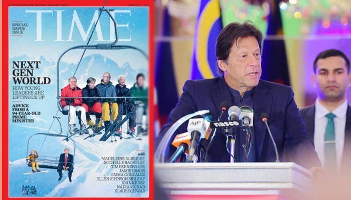 عمران خان 'ٹائمز میگزین' کے سرورق کی زینت بن گئے