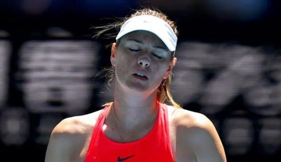 Russian Star Maria Sharapova Goes Out To Donna Vekic In Opening Round