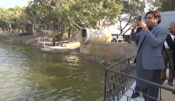 Bilawal Bhutto Zardari Visits Haleji Lake In Thatta