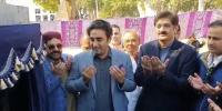 Bilawal Bhutto Zardari Inaugurates New 100 Mgd Water Plants At Dhabeji