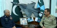 Cjcsc First Visit To Air Headquarters Islamabad