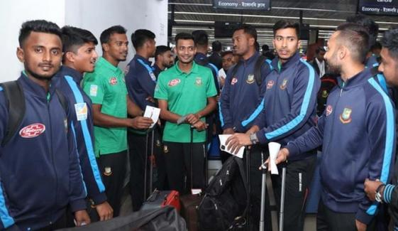 Bangladesh 15 Members Squad Arrive In Lahore For T20 Series