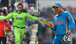 Virender Sehwag Criticized Shoaib Akhtar Pindi Express Responded With Bouncer