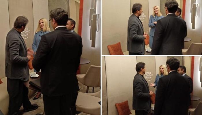 وزیراعظم عمران خان سے امریکی صدر کی بیٹی کی ملاقات