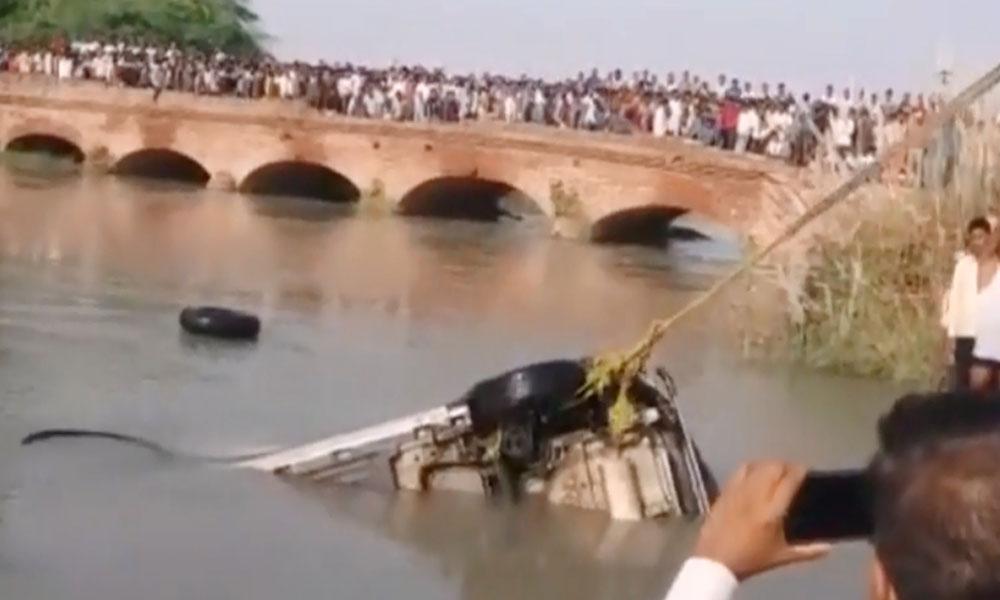 مظفرگڑھ ، ایمبولینس نہر میں جا گری، مریض جاں بحق