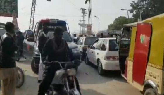 Khairpur Streets Closed For Traffic As Bilawal Arrives