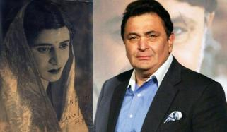 Rishi Kapoor Shares Pic Of Pran Dressed As A Woman