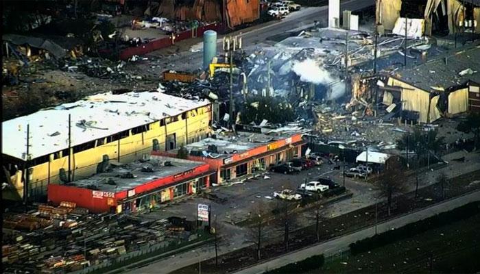 امریکا: ہیوسٹن کی فیکٹری میں دھماکا، دو افراد ہلاک