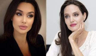 Angelina Jolies Lookalike From Russia Takes The Internet By Storm