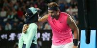 Rafael Nadal Apologizes To Ball Girl In Au Open