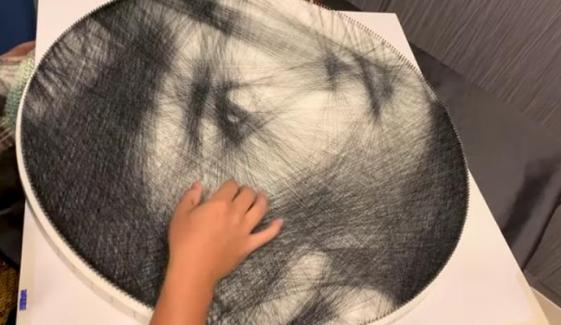 Talented Artist Uses Single Thread To Create Incredibly Detailed Portraits Hong Kong