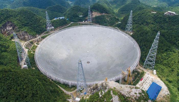 کائنات کا کونہ کونہ چھاننے کیلئے چین کی کوشش