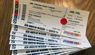 Psl 5 Ticket Worth Rs 500 Sold Out