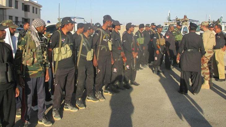 خضدار میں لیویز موبائل پر فائرنگ، حملہ آور ہلاک