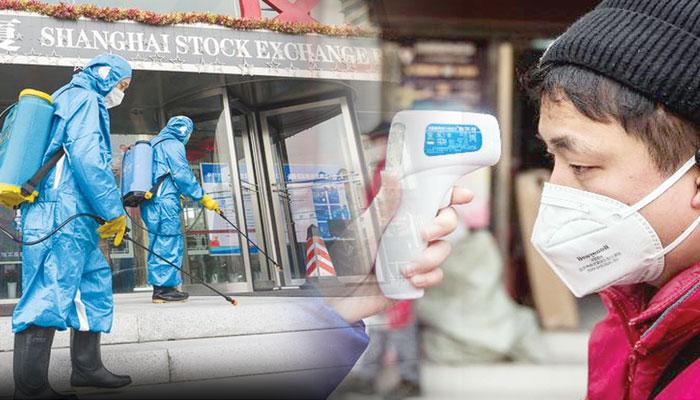 کوروناوائرس کے خدشات کے باعث چینی اسٹاک بدترین صورتحال کا شکار