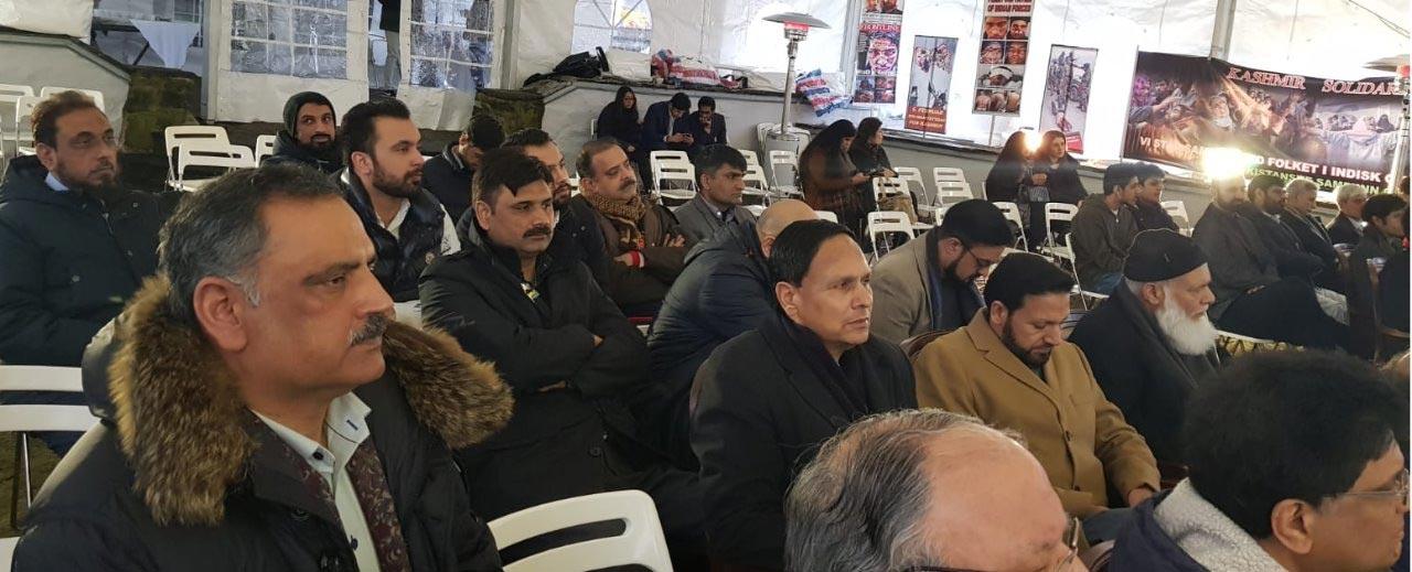 اوسلو: مقبوضہ کشمیر دنیا کی سب سے بڑی جیل کا منظر پیش کررہا ہے، سفیر پاکستان