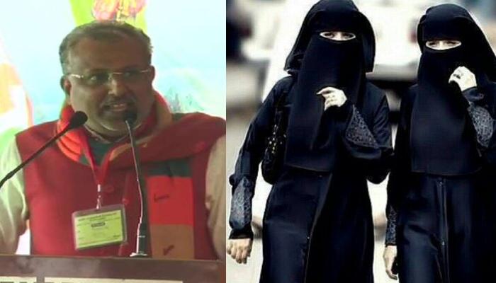 بھارت میں برقع پر پابندی لگائی جائے،راگو راج سنگھ