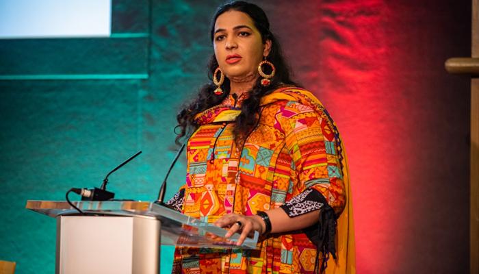 پاکستانی خواجہ سرا نے عالمی اعزاز اپنے نام کرلیا