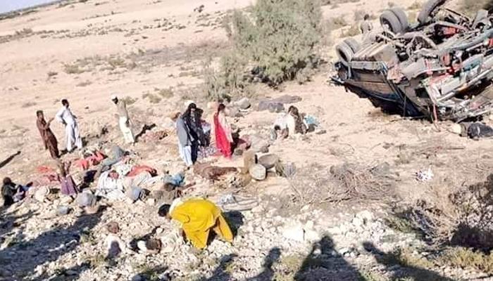 بلوچستان: ٹریفک حادثات میں 16 افراد جاں بحق