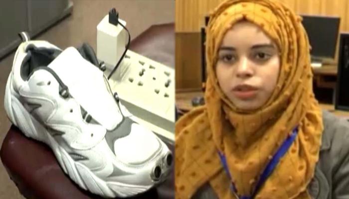 فیصل آباد کی طالبہ نے نابینا افراد کی مشکل آسان کردی