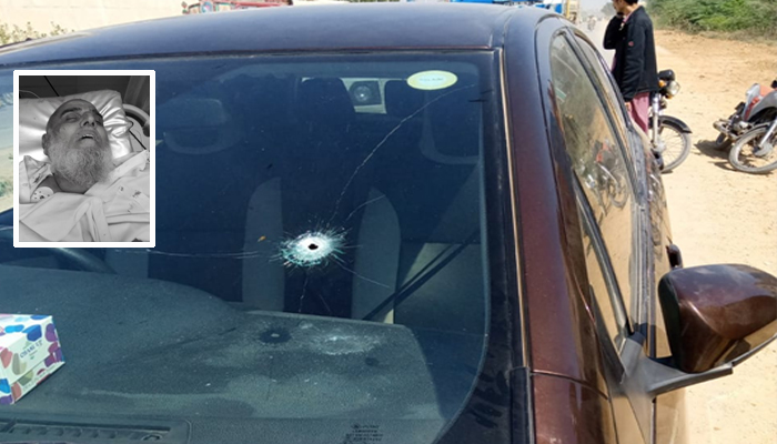 بلدیہ ٹاؤن، موٹر سائیکل سواروں کی فائرنگ، ٹرانسپورٹر جاں بحق