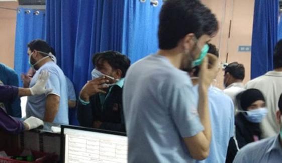کیماڑی: پراسرار گیس سے 6 افراد جاں بحق