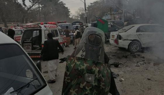 کوئٹہ میں دھماکا، 8 افراد جاں بحق