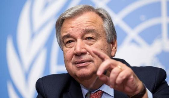 اقوام متحدہ کے سیکریٹری جنرل نے آزاد کشمیر میں مبصرین کو رسائی دینے پر فوج کا شکریہ ادا کیا