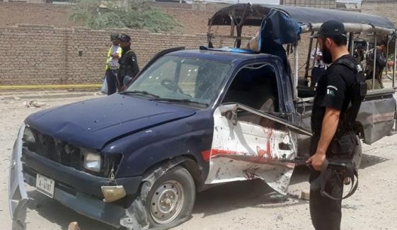 ڈی آئی خان، پولیس وین کے قریب دھماکا، اہلکار شہید