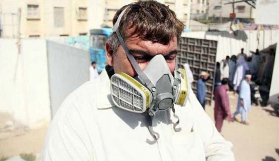 کیماڑی: زہریلی گیس نے 14 افراد کی جان لے لی