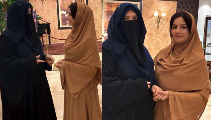 سارہ چوہدری کی رابی پیرزادہ کے ساتھ تصاویر وائرل