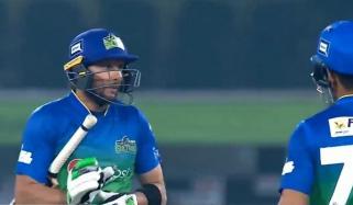 ملتان سلطانز نے لاہور قلندرز کو 5 وکٹوں سے ہرادیا