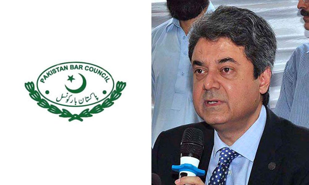 پاکستان بار کا وزیر قانون فروغ نسیم کو ہٹانے کا مطالبہ