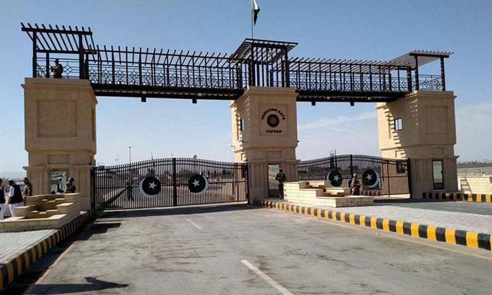 'The border between Pakistan and Iran stops traffic'