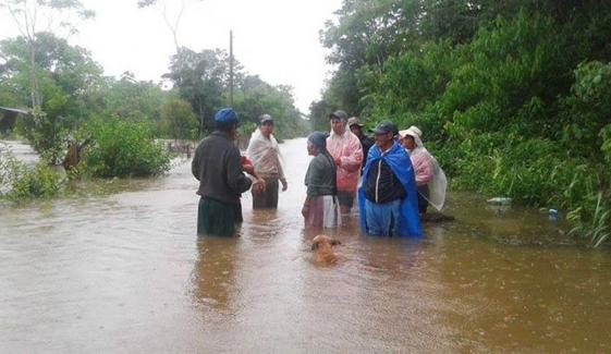 بولیویا میں شدید بارشوں اور سیلاب نے تباہی مچا دی